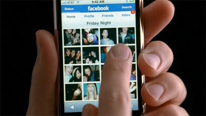 Facebook na iPhone-u