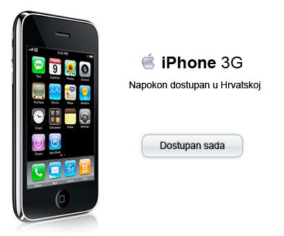 iPhone napokon dostupan i u Hrvatskoj