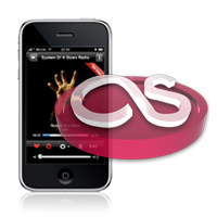 Last.fm for iPhone